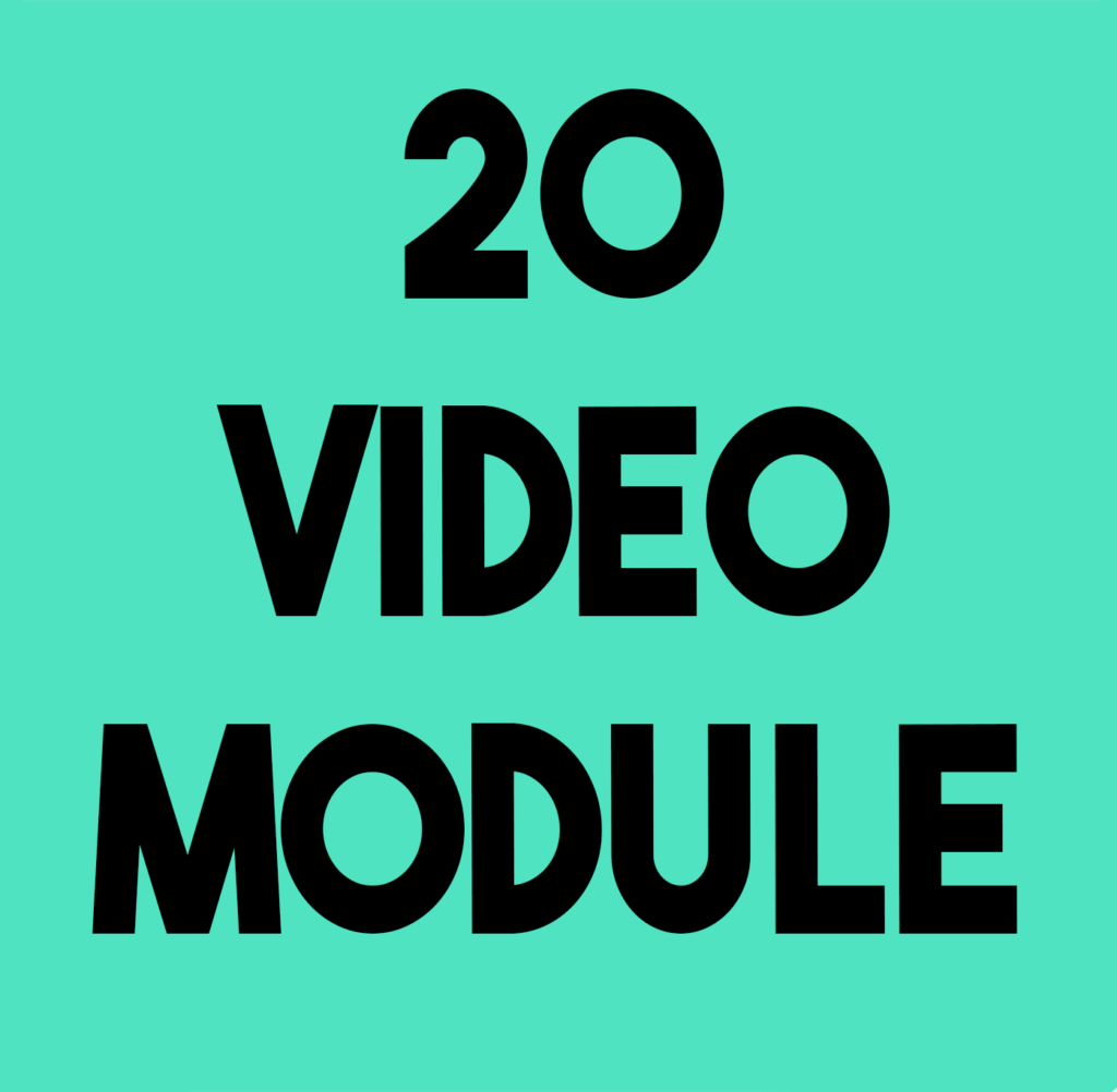 vIDEO MODULE IN FILMMAKING