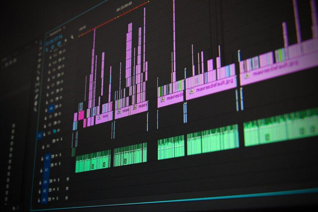 editing, video, computer