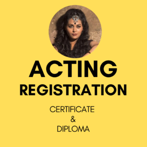 Certificate & Diploma program in acting by medha aich