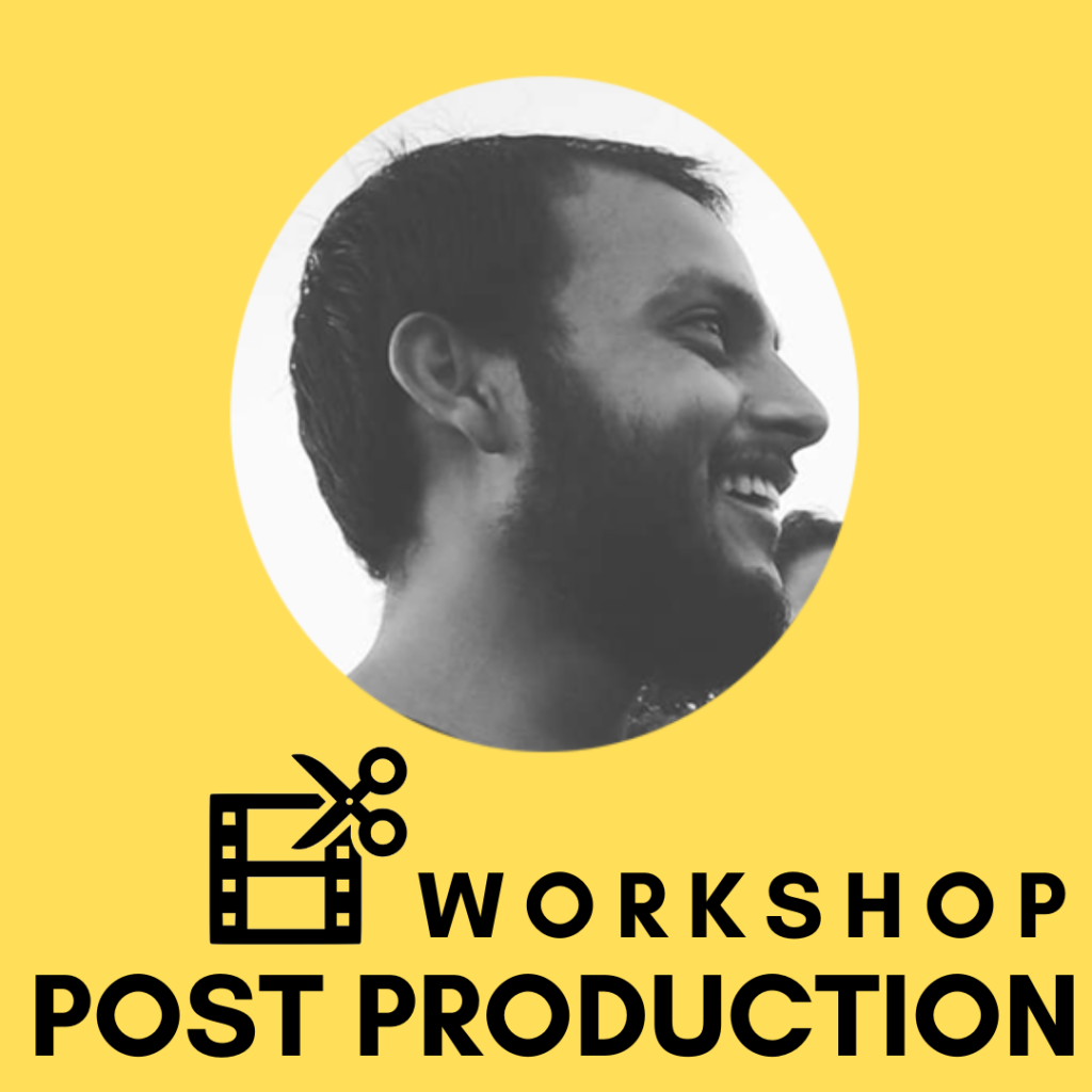 Single Day workshop on Post Production by Sheshank Kishore Mishra. This one day workshop will help you to learn the process of film editing.